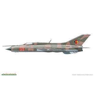 Eduard MiG-21PF - Profipack - 1:48