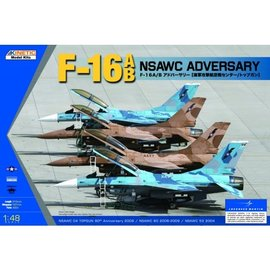 Kinetic Kinetic - Lockheed Martin F-16A/B Fighting Falcon NSAWC Adversary - 1:48