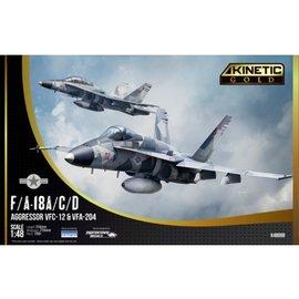 Kinetic Kinetic - McDonnell Douglas F/A-18A/C/D Aggressor VFC-12 & VFA-204 - 1:48