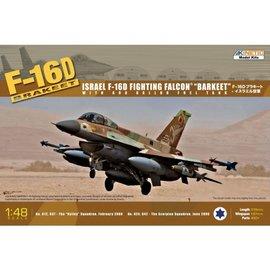 "Kinetic Kinetic - Lockheed Martin F-16D Fighting Falcon ""Barkeet"" - 1:48"