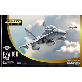 "Kinetic Kinetic - McDonnell Douglas F/A-18D ""ATARS"" - 1:48"