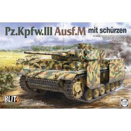 TAKOM TAKOM - Pz.Kpfw.III Ausf. M mit Schürzen - 1:35