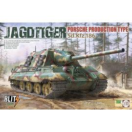 TAKOM TAKOM - Sd.Kfz. 186 Jagdtiger Porsche Production Type - 1:35