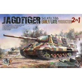 TAKOM TAKOM - Sd.Kfz. 186 Jagdtiger early / late production (2 in 1) - 1:35