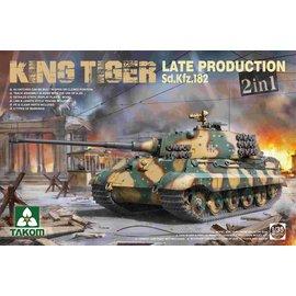 "TAKOM Takom - Sd.Kfz. 182 PzKpfw. Tiger IV ""Königstiger"" late production - 1:35"