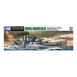 Aoshima Aoshima - HMS Norfolk - Waterline No. 809 - 1:700