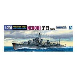 Aoshima Aoshima - I.J.N. Destroyer Nenohi (1933) - Waterline No. 455 - 1:700