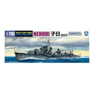 Aoshima I.J.N. Destroyer Nenohi (1933) - Waterline No. 455 - 1:700