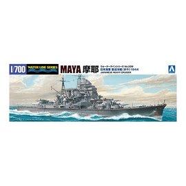 Aoshima Aoshima - I.J.N. Heavy Cruiser Maya (1944) - Waterline No. 339 - 1:700