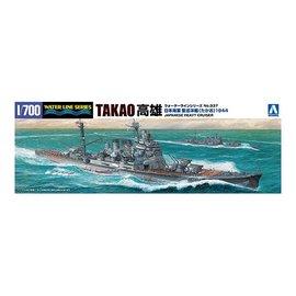 Aoshima Aoshima - I.J.N. Heavy Cruiser Takao (1944) - Waterline No. 337 - 1:700