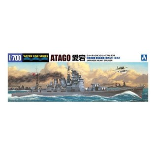 Aoshima I.J.N. Heavy Cruiser Atago (1942 Solomon Island) - Waterlin No. 338 - 1:700