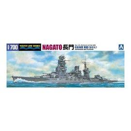 Aoshima Aoshima - I.J.N. Battleship Nagato (1942) - Waterline No. 123 - 1:700