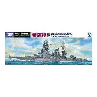 Aoshima I.J.N. Battleship Nagato (1942) - Waterline No. 123 - 1:700