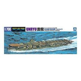 Aoshima Aoshima - I.J.N. Aircraft Carrier Unryu - Waterline No. 226 - 1:700