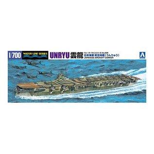 Aoshima I.J.N. Aircraft Carrier Unryu - Waterline No. 226 - 1:700