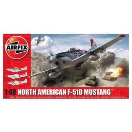 Airfix Airfix - North American F-51D Mustang - 1:48