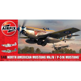 Airfix North American Mustang Mk.IV - 1:48