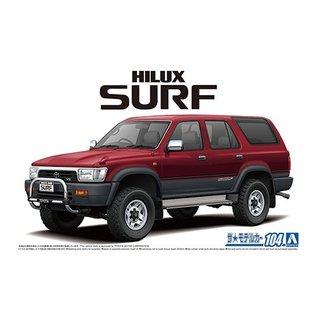 Aoshima Toyota VZN130G Hilux Surf SSR X Wide Body 1991 - 1:24