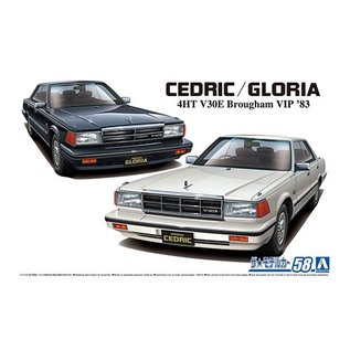Aoshima Nissan Y30 Cedric And Gloria 4HT V30E Brougham - 1:24