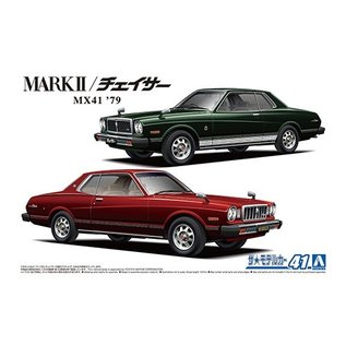 Aoshima Toyota MX41 Mark2Chaser 1979 - 1:24