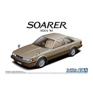 Aoshima Toyota MZ11 Soarer 2800 GT Extra 1981 - 1:24