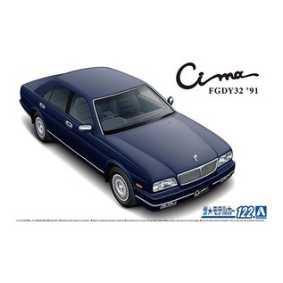 Aoshima Nissan Cima FGDY32 1991 Type III Limited - 1:24