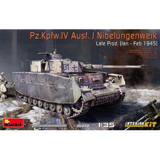 MiniArt Pz.Kpfw.IV Ausf. J Nibelungenwerk Late Prod. (Jan – Feb 1945) - 1:35