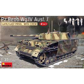 MiniArt MiniArt - Pz.Beob.Wg.IV Ausf. J Late/Last Prod. 2 in 1 w/Crew - 1:35