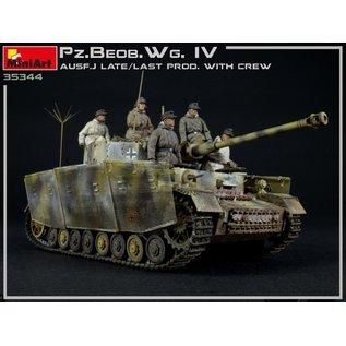 MiniArt Pz.Beob.Wg.IV Ausf. J Late/Last Prod. 2 in 1 w/Crew - 1:35
