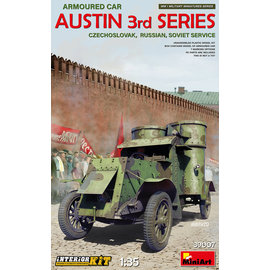 MiniArt MiniArt - Austin Armoured Car 3rd Series - Czechoslovak, Russian, Soviet Service - w/Interieur - 1:35