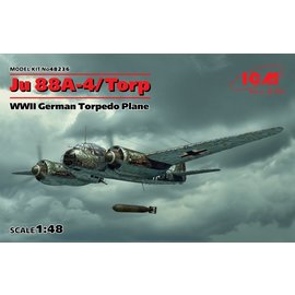 ICM ICM - Junkers Ju88A-4 Torp/A-17 Torbedobomber - 1:48