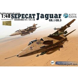 Kitty Hawk Kitty Hawk - Sepecat Jaguar GR.1/GR.3 - 1:48