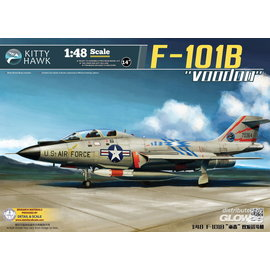 "Kitty Hawk Kitty Hawk - McDonnell F-101B/RF-101B ""Voodoo"" - 1:48"
