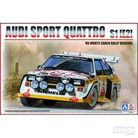 Beemax Beemax - Audi Sport Quattro S1(E2) '86 Monte Carlo Rally  - 1:24