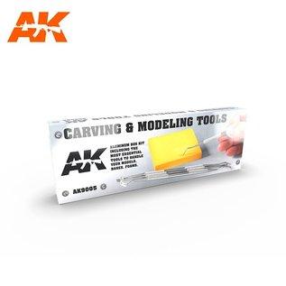 AK Interactive Carving Tools - Gravurwerkzeuge