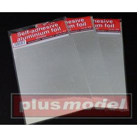 Plusmodel Plusmodel - Aluminiumfolie selbstklebend 2 Stck.