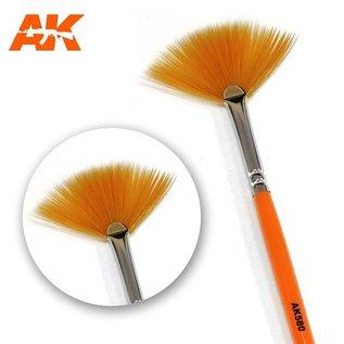 AK Interactive Fan shape weathering brush - Weathering Pinsel fächerförmig