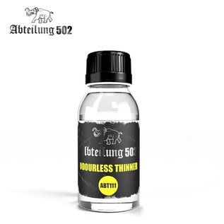 """Abteilung 502  Odorless Thinner (""""White Spirit"""") - Geruchsneutraler Verdünner (Terpentinölersatz)"""