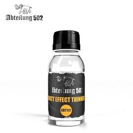 """Abteilung 502 Abt. 502 - Matt Effekt Thinner (""""White Spirit"""") - Verdünner mit Mattierungszusatz (Terpentinölersatz)"""