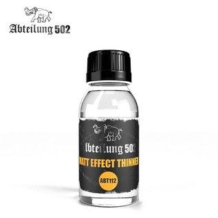 """Abteilung 502  Matt Effekt Thinner (""""White Spirit"""") - Verdünner mit Mattierungszusatz (Terpentinölersatz)"""