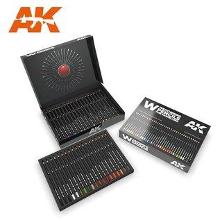"AK Interactive Weathering Pencils ""Deluxe Edition Box"""