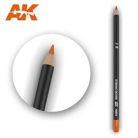 AK Interactive AK Interactive - Weathering Pencil Strong Ocher