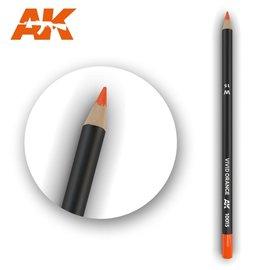 AK Interactive AK Interactive - Weathering Pencil Vivid Orange