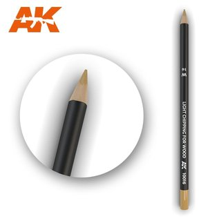 AK Interactive Weathering Pencil Light Chipping for wood