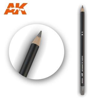 AK Interactive Weathering Pencil Dark Aluminum Nickel