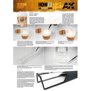 AK Interactive Gauzy Agent Glass Coat - Hochglanz-Beschichtung für Klarsichtteile