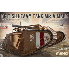 MENG MENG - British Heavy Tank Mk. V Male - 1:35