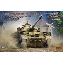 Ryefield Model RFM - PzKpfw. IV Ausf.J Sd.Kfz.161/2 (w/full interior&clear parts&workle track links) - 1:35
