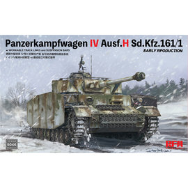 Rye Field Model RFM - PzKpfw. IV Ausf.J Sd.Kfz.161/1 Early production - 1:35