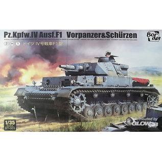 Border Model Pz.Kpfw.IV Ausf. F1 Vorpanzer & Schürzen - 1:35